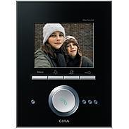Gira Video Terminal schwarz Glas