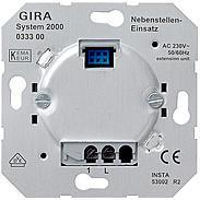 Gira Uni-Nebenstelle-Einsatz 2-Draht System 2000