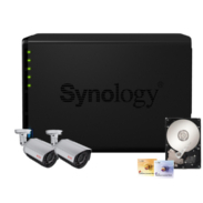 Synology IP-Kamera Set Abus TVIP62000 + DS412+ NAS