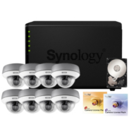 Synology IP-Kamera Set Abus TVIP71501 + DS412+ NAS