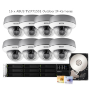 Synology IP-Kamera Set Abus TVIP71501 + RS3412xs