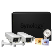 Synology IP-Kamera Set1 Axis P1344-E + DS412+ NAS