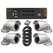 Lupus Videoberwachung Set 4 IR-Kamera LE138 + DVR