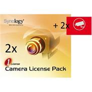 Synology 2x Camera License Pack +2x Videoaufkleber