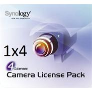 Synology Kamera Lizenz - 4x Camera License Pack