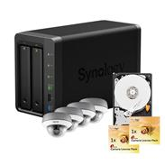 Synology IP-Kamera Set2 Abus TVIP71501 + DS213+NAS