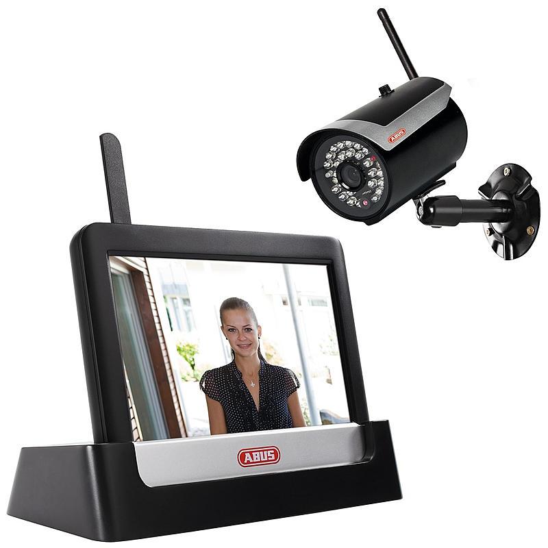 "ABUS SC Retail Abus Digitales Funk-Heim-Videoset 7"" TVAC16000A"