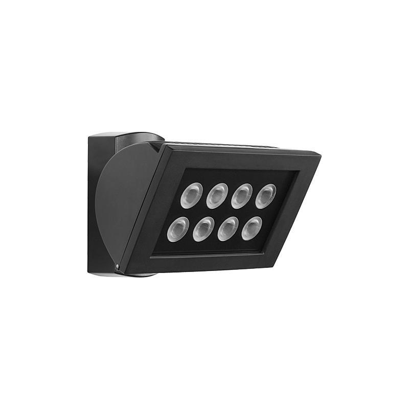 Esylux LED-Strahler 8x3W AF S 300 LED 5K sw EL10520815