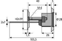 Maße XP20 Außenzylinder