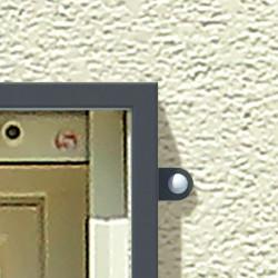 TIAMAT Fenstergitter nach Maß - Montage auf der Wand