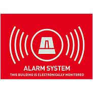Warnaufkleber Alarm -UK- 148x105 mm AU1314