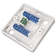 ABUS Aufputz-Schraub-Verteiler 12-polig weiss VT5101W 10000932 Bild1