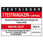 Olympia Protect 9060 GSM-Alarmanlagen-Set