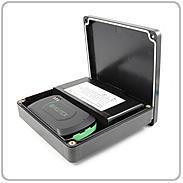 Incutex GPS Komplettbox FLAT Box+Magnet+Akku Goldkont. 10004124 Bild1