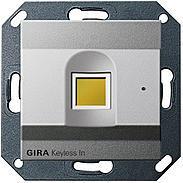 Gira Keyless In Fingerprint - 260726, Alu. IP20