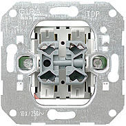 Gira Doppel-Wipptaster-Einsatz