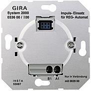 Gira Impuls-Einsatz UP System 2000