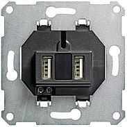 Gira USB 2fach Einsatz System 55