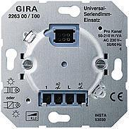 Gira Universal-Seriendimm-Einsatz
