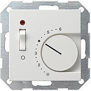 Gira Raumthermostat Ein/Aus rws-gl System 55