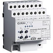 Gira Jalousieaktor 2fach 230VAC KNX/EIB REG