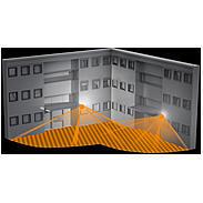 Steinel Sensor-Leuchte 100W IP44 230-240V L870S gr