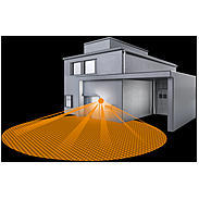 Steinel Sensor-Leuchte 60W IP44 230-240V L 400S sw