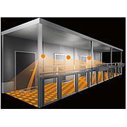 Steinel Sensor-Leuchte LED 16W IP44 L691 Glas anth