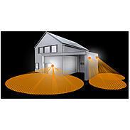 Steinel Sensor-Leuchte LED 8W+1W IP44 L 665 LED