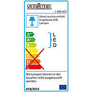 Steinel Sensor-Leuchte LED 8W IP44 L 680 alu-anthr