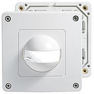 Esylux Abdeckung IP44 ws für MD180i u. PD180i