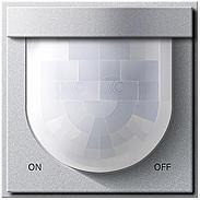 Gira Automatikschalter Komfort alu TX44