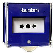 Indexa NT03 HAUSALARM Druckknopfmelder blau