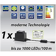 Konstsmide LED-Verlängerungskabel 10m