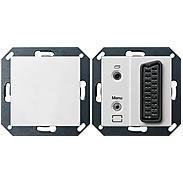 Gira TKS-TV-Gateway 2610 reinweiss glänzend