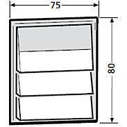 Renz Klingelmodul 3 Klingeltaster 97-9-85271 grau