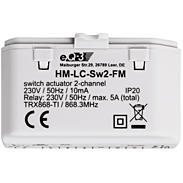 HomeMatic Funk-Schaltaktor 2-fach UP HM-LC-Sw2-FM