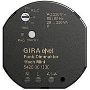 Gira eNet Funk Dimmaktor 1fach Mini 20 – 250 W/VA