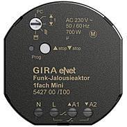 Gira eNet Funk Jalousieaktor 1fach Mini