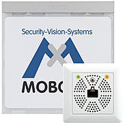 Mobotix Infomodul Mx2wire+ mit LEDs, silber