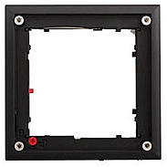 Mobotix FlatMount Frame, schwarz