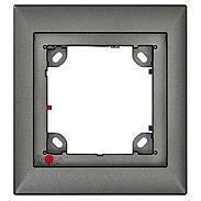 Mobotix 1er Rahmen, dunkelgrau