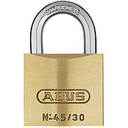 Abus Messing-Vorhangschloss 45/30 Twins 2er Set
