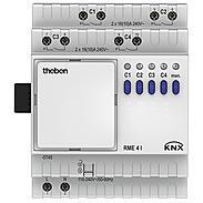 Theben Schaltaktor 100-240V AC RME 4 I KNX
