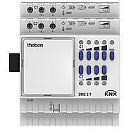 Theben Universaldimmer DME 2 T KNX 2Kan. Erw.Mod.