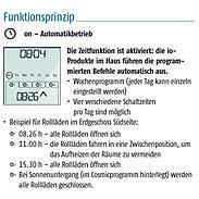 Somfy Funkprogrammschaltuhr Chronis io 1805227