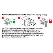 Burg Wächter Paketbox eBoxx D 634 SW Volumen 79L