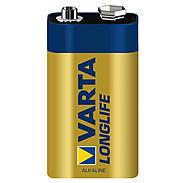 Varta Longlife 9V Block Alka. 4122 , 1 St.