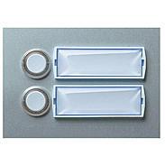 Friedland Kontaktplatte E101/2, beleuchtbar silber