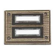 Friedland Kontaktplatte E26/2, Bronzeguß